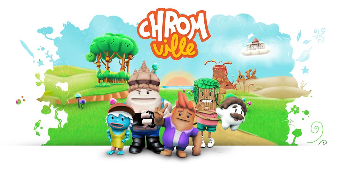 Chromville-augmented-reality-app